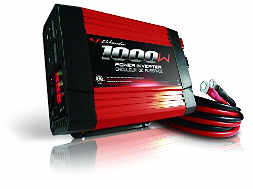 Schumacher DC to AC Power Inverter for Cars - 1000W AC/USB - for Converting Vehicle Power to Household Power for Camping, Tailgating and More