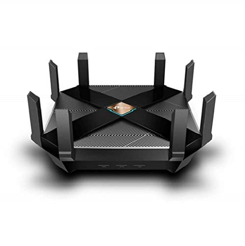 TP-Link Archer AX6000 - WiFi 6 Router, Tri-Band Gaming Router WiFi, MU-MIMO, Una CPU 1.8 GHz Quad-Core y 2 co-procesadores, hasta 5952 Mbps: 4804 Mbps (5 GHz) and 1148 Mbps (2.4 GHz)