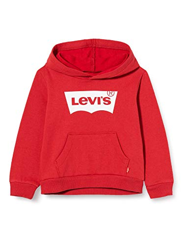 Levi's Kids Lvb Batwing Screenprint Hoodie Sudadera Levis Red/ White para Niños