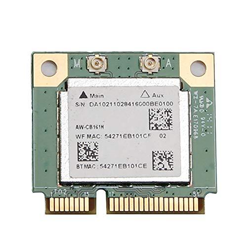 XGLAI Dual Band Realtek RTL8821 AW-CB161H Wifi Wlan Card Bluetooth 4.0 Combo A Half Mini PCI-E Adapter 433Mbps 802.11ac