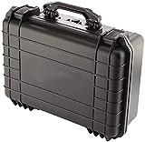 NYZXH Caja de herramientas de almacenamiento caja de herramientas Black Maletín Toolbox caja de herramientas portátil para proteger herramientas Fotografía y prueba Equipos y accesorios Toolbox Storag