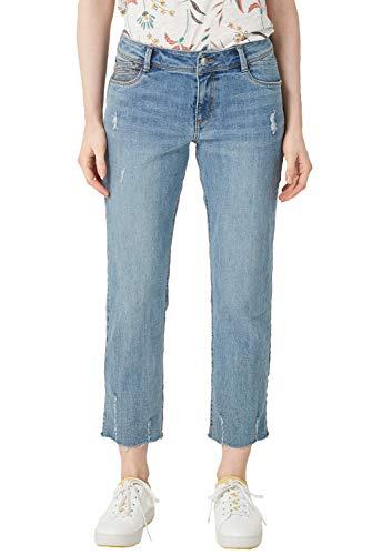 s.Oliver Damen 14.904.72.2347 Straight Jeans, Blau (Blue Denim Stretch 53z6), (Herstellergröße: 38)