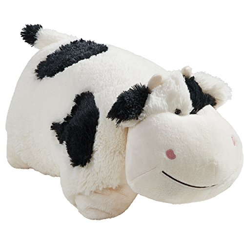 "Pillow Pets Originals Cozy Cow 18"" Stuffed Animal Plush Toy"