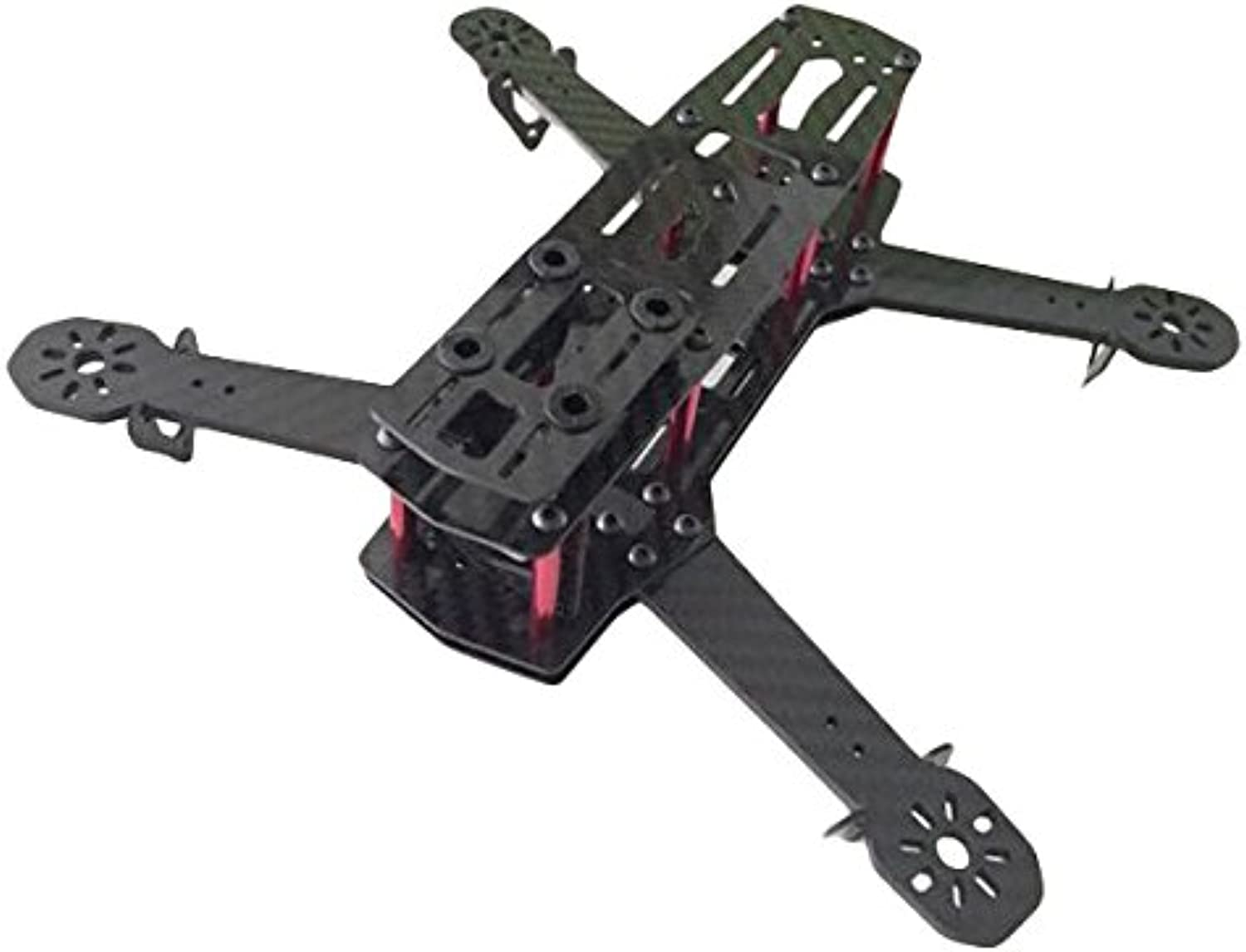 KINGDUO ZMR250 V2 Carbon Fiber Frame Kit RC Drone FPV Racing 4.0mm Arm Thickness Support 1806 2204 2206 Power