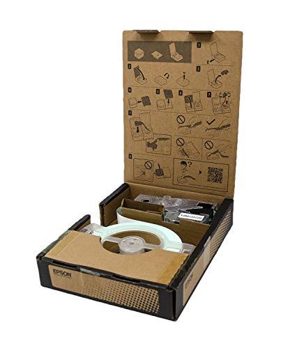"LABELWORKS LW-Z5010PX-B Industrial Label Maker and Bonus Bulk 1"" Black on White Vinyl Tape - Complete Printer Kit with Accessories, Bulk Label Roll B224VTBWPX, Desktop Label Printer Photo #5"