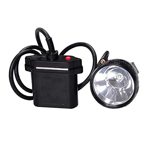 JJYGWBTS Stirnlampe 10 W LED Jagd Scheinwerfer Bergmann Hut Licht Bergmann Licht (emittierende Farbe: weiß, Steckertyp: D)