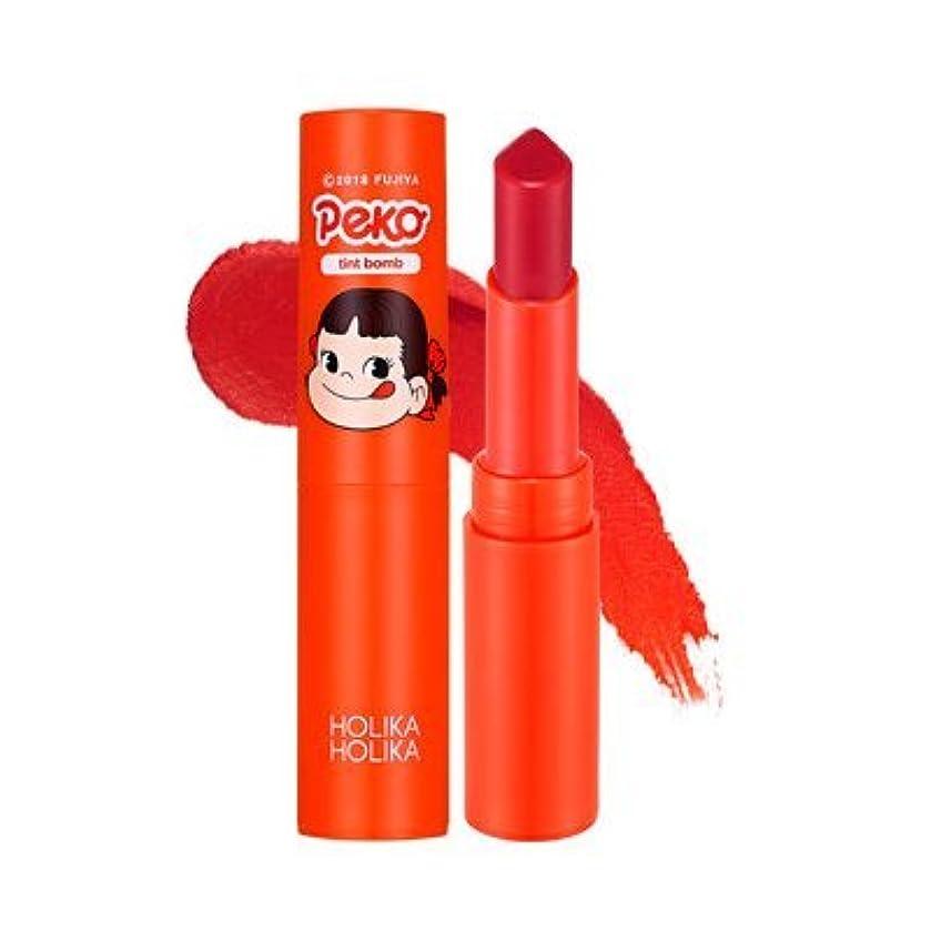 とティーム気球剪断Holika Holika [Sweet Peko Edition] Water-drop Tint Bomb (# 02)/ホリカホリカ [ペコちゃん]ウォータードロップティントバーム 2.5g [並行輸入品]