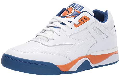 Puma Unisex-Erwachsene Palace Guard Sneaker, Weiß (Puma White-Jaffa Orange-Galaxy Blue 05), 44.5 EU