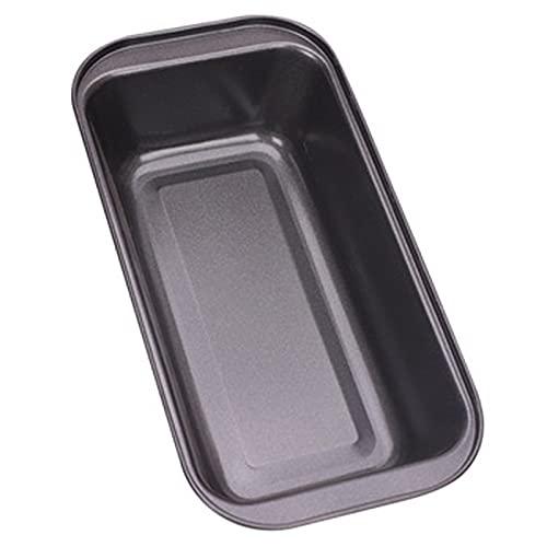 Miystn stampo pane in cassetta, stampo per plumcake, stampo per pancarre, Rivestimento Antiaderente Rettangolari Patisserie Teglie,Teglia Antiaderente per Il Pane (1 pezzo, 25,5 x 13 x 6 cm)