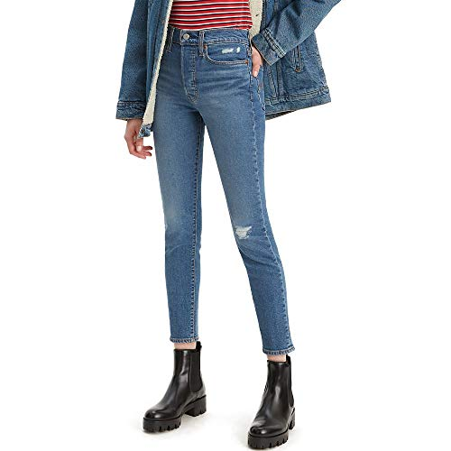 Levi's Women's Wedgie Skinny Jeans, Pacific Waves, 29 (US 8)