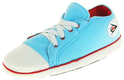 Dunlop Damen Hausschuhe Sneaker Pumps Stiefel Hell Blau, Gr.- EU 38-39/ Medium