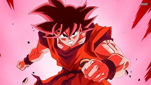 lcyab 1000 Piezas De Rompecabezas-Póster Anime Goku Black Hair-Juegos Educativos Y De Aprendizaje, De Ocio Y Educativos para Adultos Y Niños