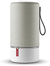 Libratone Zipp Wifi Bluetooth Smart Speaker, 360° Loud Stereo Sound with Dual Mic Build-in, 15W Woofer Deep Bass, 12 Hour Playtime, Airplay2 and Spotify connect, Work with Alexa(Cloudy Grey)