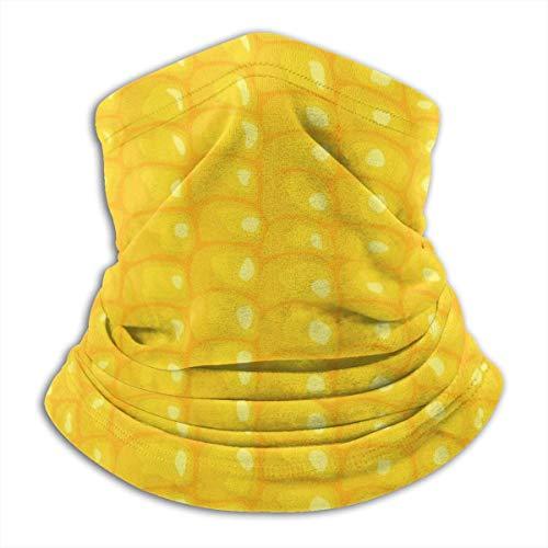 XXWKer Microfibre Chapeaux Tube Masque Visage Tour de Cou Cagoule, Corn Texture Neck Warmer Scarf Men Women Fashion Fleece Face Bandana Microfiber Soft Elastic Cover for Snowboarding Winter Sports