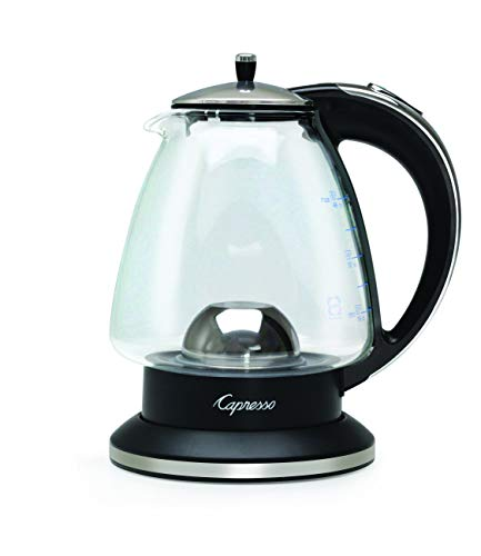Capresso 240.03 Water Kettle 48 oz Polished Chrome and Black