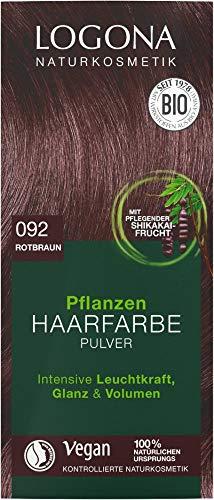 Logona Bio PHF Pulver 092 rotbraun (6 x 100 gr)