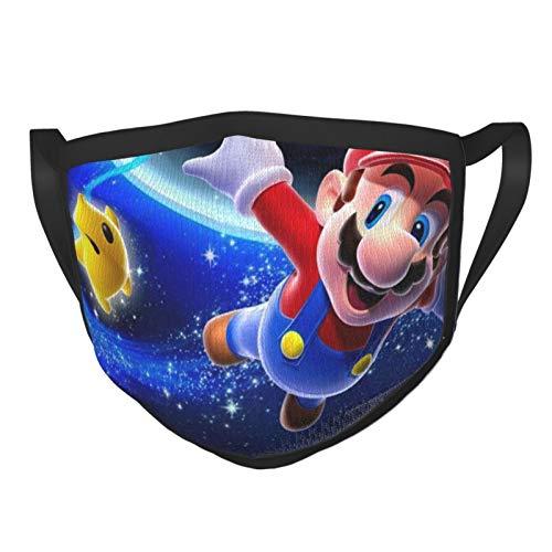 Shadidi Super Ma-Rio Galaxy - Fundas para máscara facial, pasamontañas ajustables para polvo y viento