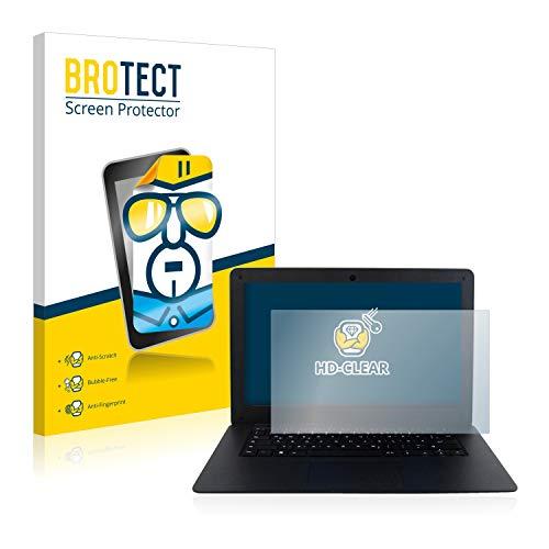 BROTECT Schutzfolie kompatibel mit Captiva Notebook (14.1