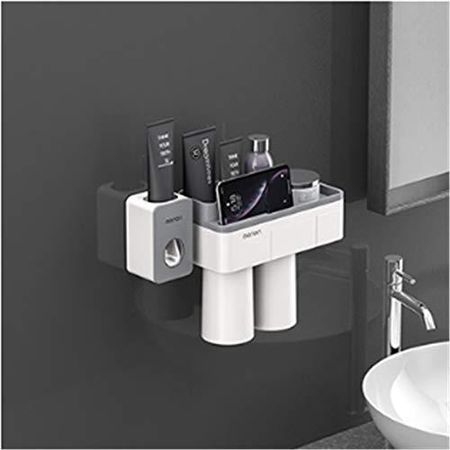 winchance Tandenborstel Tandpasta Tumbler Houder Badkamer Accessoire Rek Organisator Welke Automatische Tandpasta Extruder