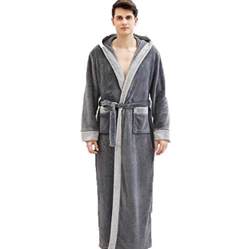 DAFREW - Pijama cálido de gran tamaño, holgado, estilo...