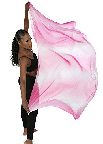 Belly Dance Organza Veil Ola Organze (Fuschia)