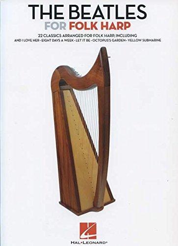 The Beatles For Folk Harp: Noten für Harfe (Folk Harp Book)