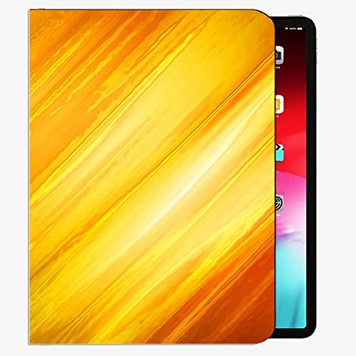 Caso Ajuste iPad Pro 9.7 Pulgadas de 9.7 Pulgadas Sólo Tableta (A1673 / A1674 / A1675), Líneas Fuego Fuego Fondo Fondo Llama Funda Slim Shell Funda para iPad Pro 9.7