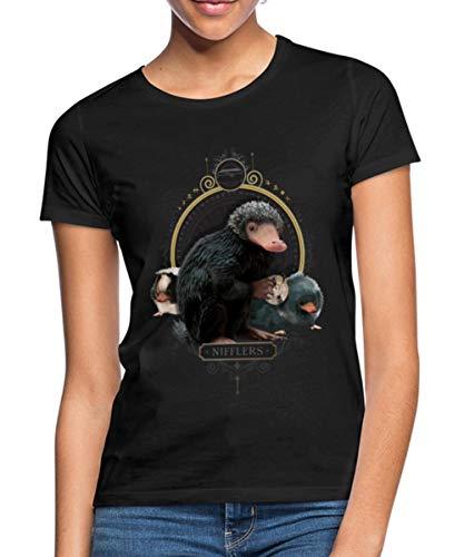Phantastische Tierwesen Nifflers Frauen T-Shirt, M, Schwarz