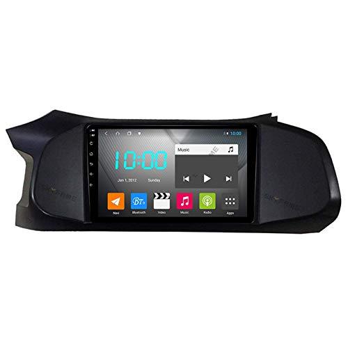 LYHY Android 9.0 Car Stereo Double DIN Compatible con Chevrolet Onix 2012-2019 Navegación GPS Unidad Principal de 9 Pulgadas Reproductor Multimedia MP5 Receptor de Video y Radio con 4G WiFi DSP