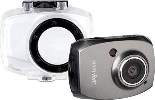 Jaytech SportCam D528 Full-HD Camcorder (5 Megapixel, 4-Fach dig. Zoom, 6,1 cm (2,4 Zoll) Touch-Display, Kartenslot)