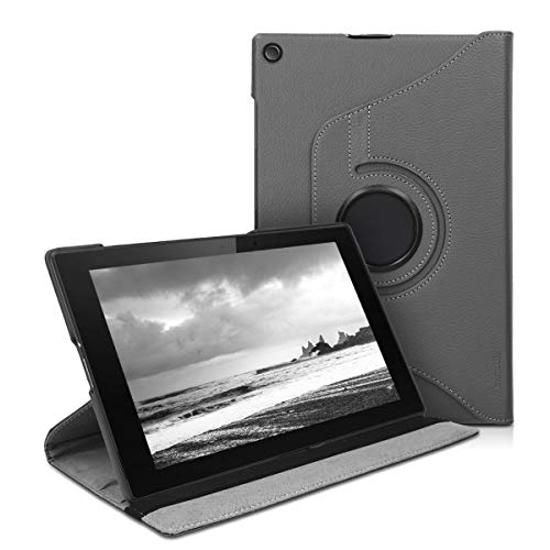 kwmobile Sony Xperia Tablet Z2 Hülle - 360° Tablet Schutzhülle Cover Case für Sony Xperia Tablet Z2 - Anthrazit