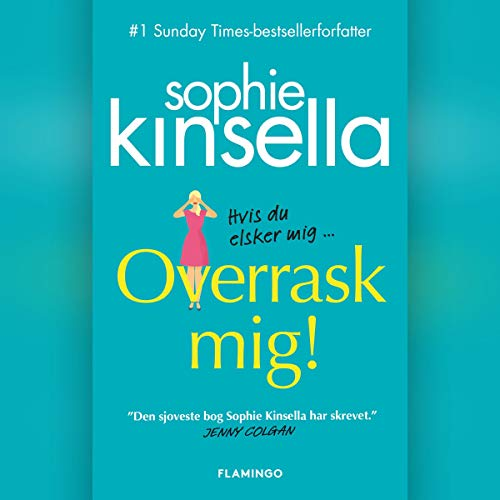 Overrask mig! audiobook cover art