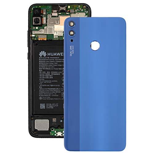 Ebogor de Tapa Trasera de batería con Lente de cámara for Huawei Honor 8X (Azul) (Color : Blue)