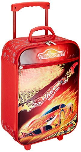 GiantStationery Fabric 46 cm Red Children's Luggage ITG#208