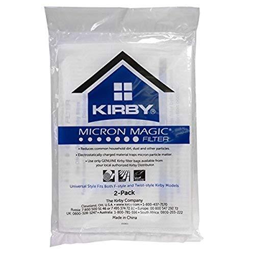 Electric Vac LLC Kirby 205811A Bolsa de Papel, de Tela de alérgenos Universal Collar 2 PK