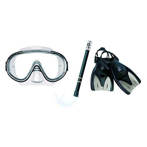 リーフツアラー マスク シュノーケル フィン 3点セット RP-1014Z ブラック Lサイズ