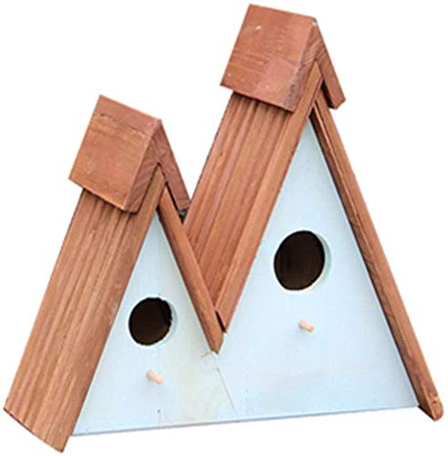for Les Oiseaux Nids Cages Anglais Courtyard Garden Cottages Bird House Verticale Mangeoire extérieure for Les Petites Oiseaux Cabine Birdhouse Creative Décoration extérieure Mangeoire d'oiseaux