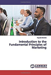 Introduction to the Fundamental Principles of Marketing