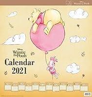 くまのプーさん 2021年 カレンダー 壁掛け CL-71