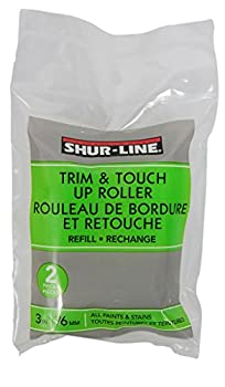Shur-Line 2007129 3-Inch Trim and Touch Up Roller Refill