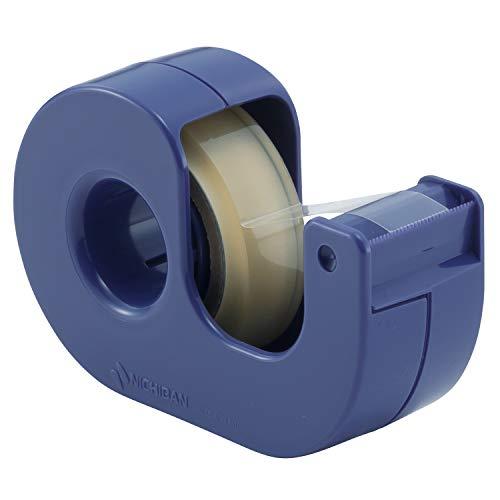 ニチバンセロテープ小巻カッターつきまっすぐ切れるブルーCT-12DCB