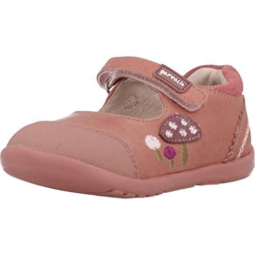 GARVALIN - Zapato Merceditas Detalle Seta Cuero Niñas