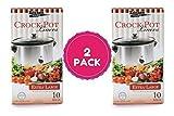 Multi-Use Large Slow Cooker - Crock Pot Liner Bags Fits 7-8 Quart Crock Pot 20 Ct