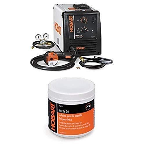 Hobart 500559 Handler 140 MIG Welder 115V with Hobart 770074 MIG Accessory Nozzle Gel