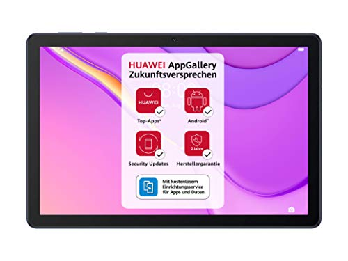 HUAWEI MatePad T 10s WiFi Tablet-PC, 10,1 Zoll Full HD Wide Open View, Octa-core Prozessor, eBook Modus, Dual Speaker, Android 10, 2 GB RAM, 32 GB ROM, EMUI 10.1, ohne Google Play Store, Deepsea Blue