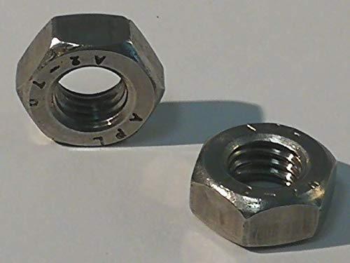 12 Stück M12 Sechskantmuttern Edelstahl A2 DIN 934, Muttern V2A (Edelstahl V2A, M12)