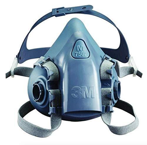 3M Halbmaskenkörper, aus Silikon mit strukturierter Gesichtsabdichtung, Größe M, 1 Stück, 7502