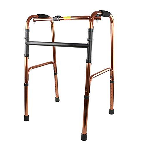 XCY Medizinische Instrumente Aluminiumlegierung Spaziergang Aid, Easy Folding Hilfs Walker