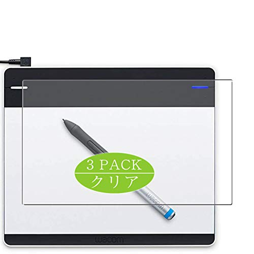 3枚 VacFun フィルム , Intuos pen small CTL-480 / S1 Wacom ワコム 向けの 保護フィルム 液晶保護 フィルム 保護フィルム(非 ガラスフィルム 強化ガラス ガラス )