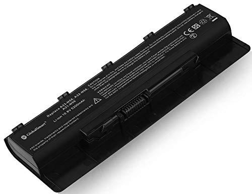 Globalsmart Batería para portátil Alta Capacidad para ASUS N56JN 6 Celdas Negro